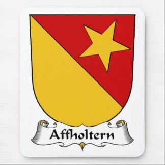 Escudo de la familia de Affholtern Alfombrillas De Raton
