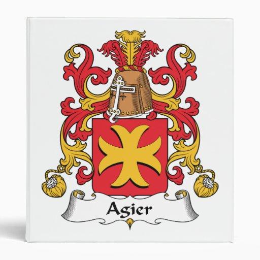"""Escudo de la familia de Agier Carpeta 1"""""""