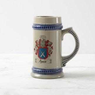 Escudo de la familia de Agnese Jarra De Cerveza