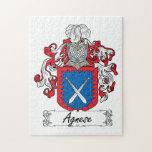Escudo de la familia de Agnese Rompecabeza Con Fotos