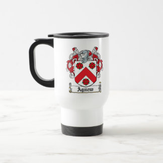 Escudo de la familia de Agnew Taza De Café