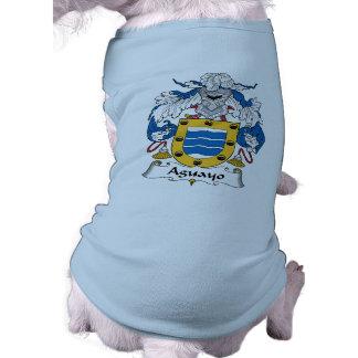 Escudo de la familia de Aguayo Camisa De Mascota