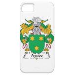Escudo de la familia de Agudo iPhone 5 Case-Mate Cárcasa