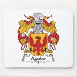 Escudo de la familia de Aguiar Alfombrilla De Raton