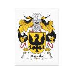 Escudo de la familia de Aguila Impresion En Lona