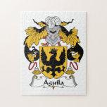 Escudo de la familia de Aguila Rompecabeza