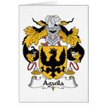 Escudo de la familia de Aguila Tarjetas