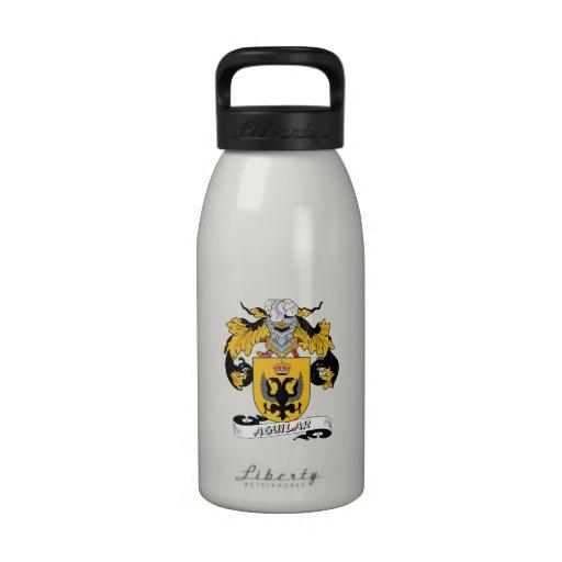 Escudo de la familia de Aguilar Botella De Agua