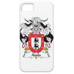 Escudo de la familia de Aiala iPhone 5 Cárcasas