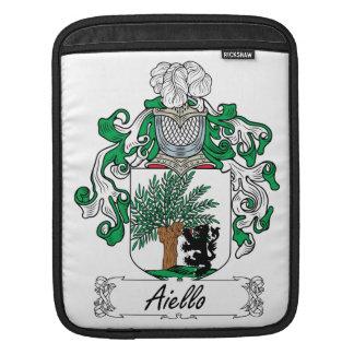Escudo de la familia de Aiello Funda Para iPads