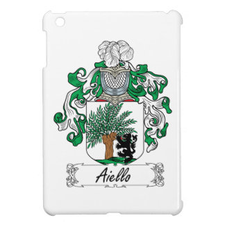 Escudo de la familia de Aiello iPad Mini Fundas