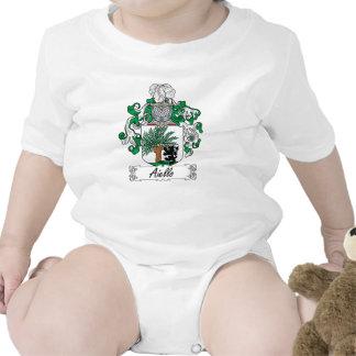 Escudo de la familia de Aiello Traje De Bebé