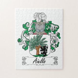 Escudo de la familia de Aiello Puzzles Con Fotos