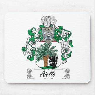 Escudo de la familia de Aiello Alfombrillas De Ratones