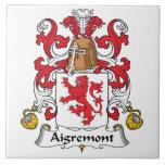 Escudo de la familia de Aigremont Azulejos Ceramicos
