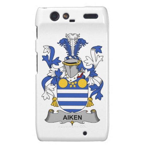 Escudo de la familia de Aiken Droid RAZR Fundas