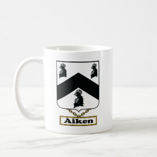 Escudo de la familia de Aiken Taza