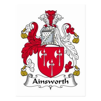 Escudo de la familia de Ainsworth Postal