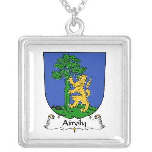 Escudo de la familia de Airoly Joyería