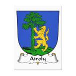 Escudo de la familia de Airoly Lona Estirada Galerías