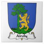Escudo de la familia de Airoly Teja