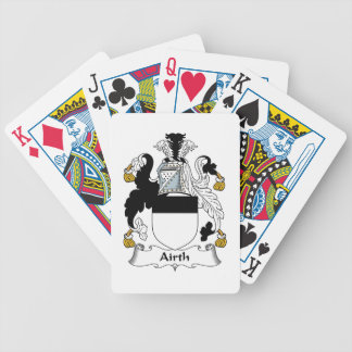 Escudo de la familia de Airth Baraja Cartas De Poker