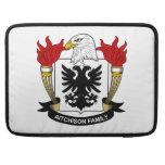 Escudo de la familia de Aitchison Fundas Para Macbook Pro