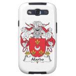 Escudo de la familia de Alardo Samsung Galaxy S3 Cárcasa