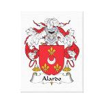 Escudo de la familia de Alardo Lona Envuelta Para Galerias