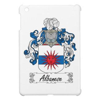 Escudo de la familia de Albanese iPad Mini Carcasa