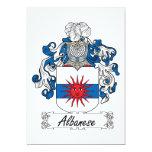 Escudo de la familia de Albanese Comunicados Personales