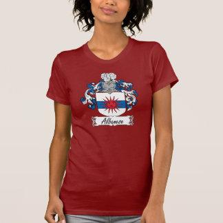 Escudo de la familia de Albanese Camisetas