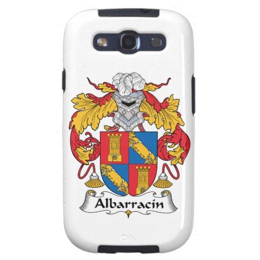 Escudo de la familia de Albarracin Samsung Galaxy S3 Protectores