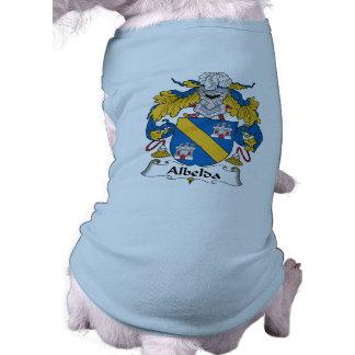 Escudo de la familia de Albelda Camisa De Mascota
