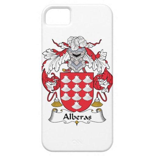 Escudo de la familia de Alberas iPhone 5 Coberturas