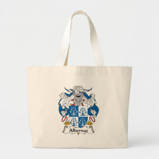 Escudo de la familia de Albernaz Bolsa Tela Grande