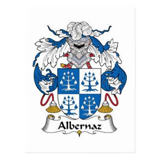 Escudo de la familia de Albernaz Postales
