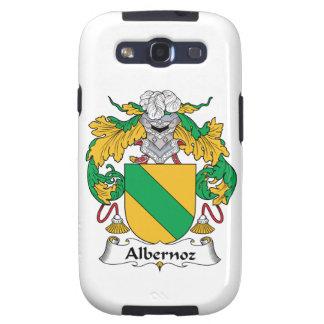 Escudo de la familia de Albernoz Galaxy S3 Cárcasa