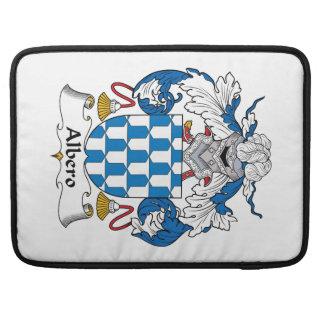Escudo de la familia de Albero Fundas Para Macbooks