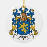Escudo de la familia de Albert Adornos De Navidad