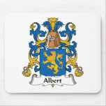 Escudo de la familia de Albert Alfombrilla De Ratón