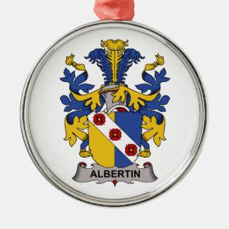 Escudo de la familia de Albertin Ornamento De Reyes Magos