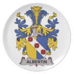 Escudo de la familia de Albertin Platos
