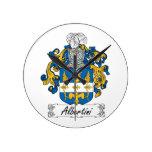 Escudo de la familia de Albertini Reloj