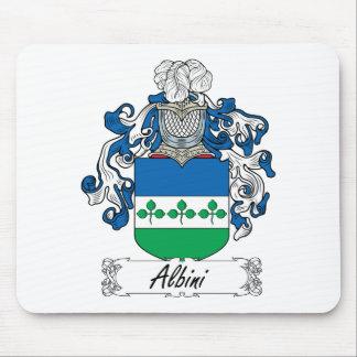 Escudo de la familia de Albini Alfombrillas De Ratones