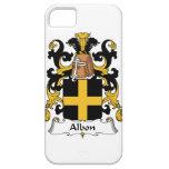 Escudo de la familia de Albon iPhone 5 Fundas