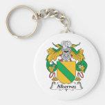 Escudo de la familia de Albornoz Llavero Personalizado