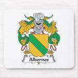 Escudo de la familia de Albornoz Tapetes De Raton