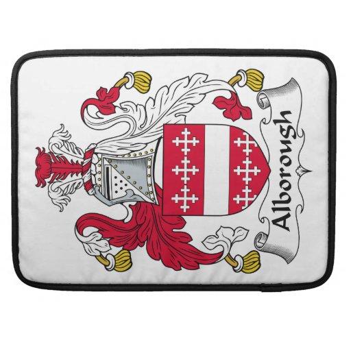 Escudo de la familia de Alborough Funda Macbook Pro