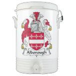 Escudo de la familia de Alborough Vaso Enfriador Igloo